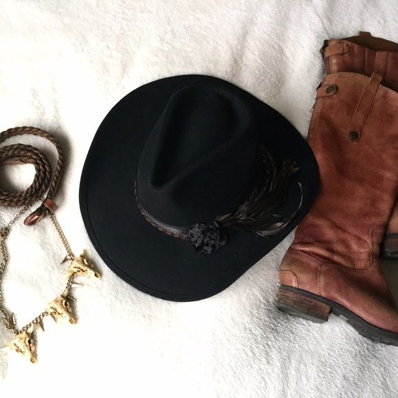a2fe5e4ebff61 ⚡️SALE⚡️Authentic Shady Brady Cowboy Hat Unleash your inner cowgirl or just  add some Western boho flair to your outfit! This is an au…