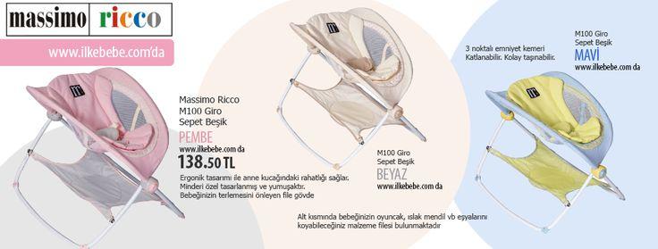 Massimo Ricco M100 Giro Sepet Beşik Ürün Fiyatı :138.50 TL http://www.ilkebebe.com/Besik-ve-Sepet/Massimo-Ricco-M100-Giro-Sepet-Besik-Mavi-27338.aspx