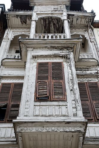 old Istanbul ottoman house