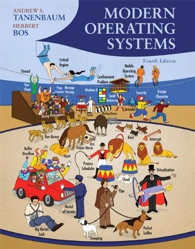I'm selling ebook -- Modern Operating Systems (4th Edition) by Andrew S. Tanenbaum and Herbert Bos