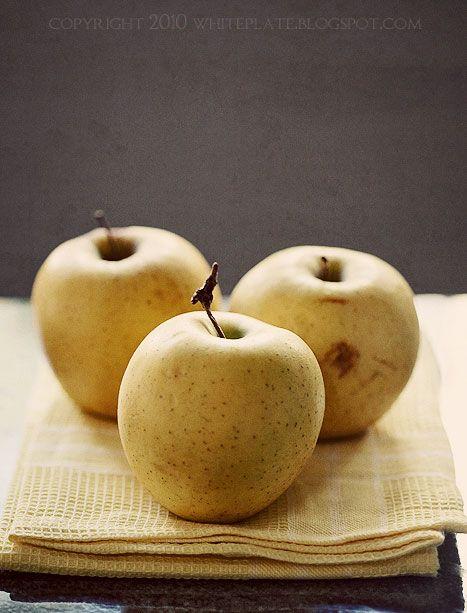 Alzacka tarta z jabłkami   White Plate