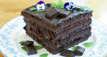 Sjokoladekake – Berit Nordstrand