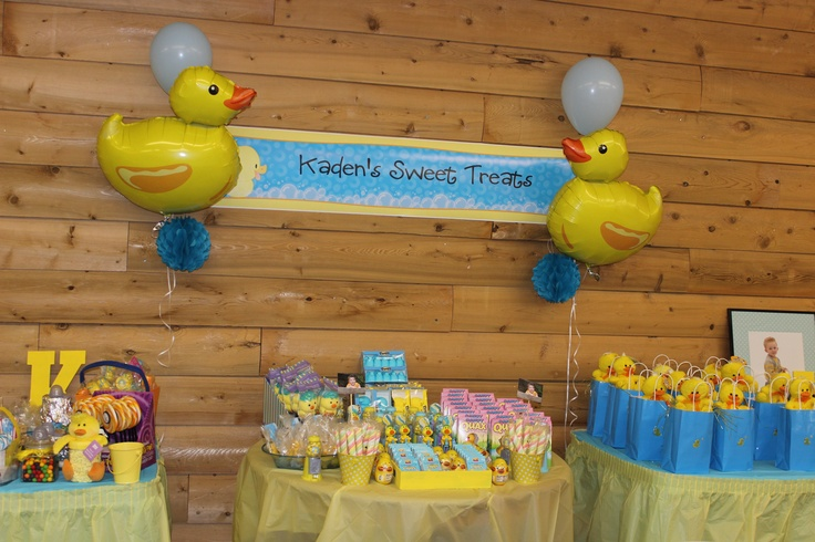 54 best Rubber Ducky Birthday Party images on Pinterest | Rubber ...