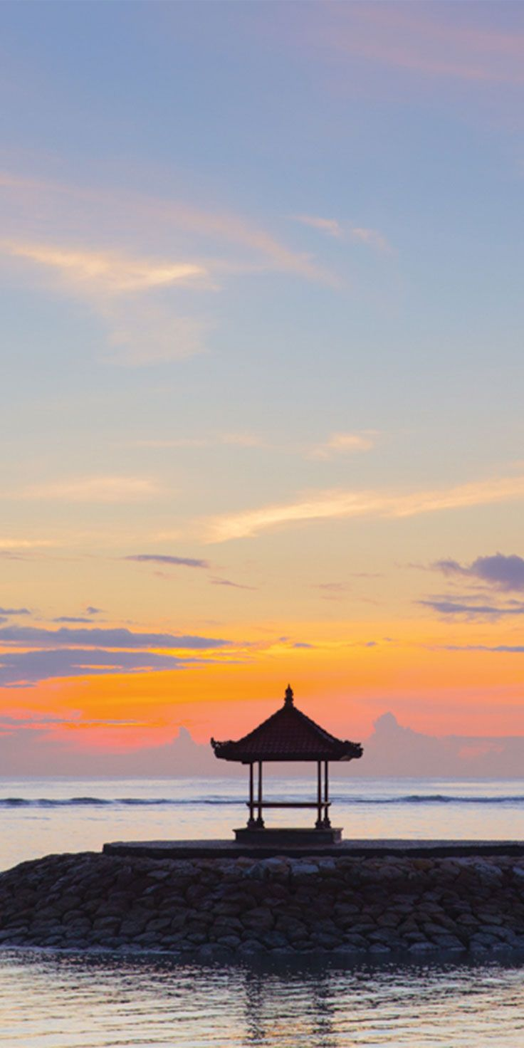 Sunrise in Nusa Dua, Bali - by Jewels Lynch