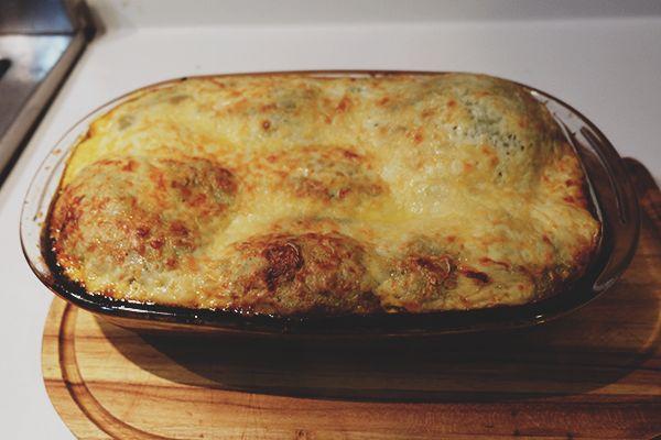 Receita da verdadeira lasagna com ragu alla bolognese