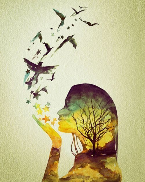 Wonder.: Thoughts, Tattoo Ideas, Life Quotes, Remember This, Watercolor Paintings, Kind Quotes, A Tattoo, Birds, Popular Pin