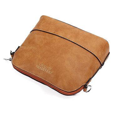 Women Nubuck Shell Bags Girls Vintage Shoulder Bags Crossbody Bags Messenger Bag - US$12.56