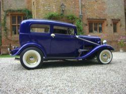 1932 Ford Model B sedan HOT ROD for hire. Wedding Car Hire. DIPSIE DOODLE