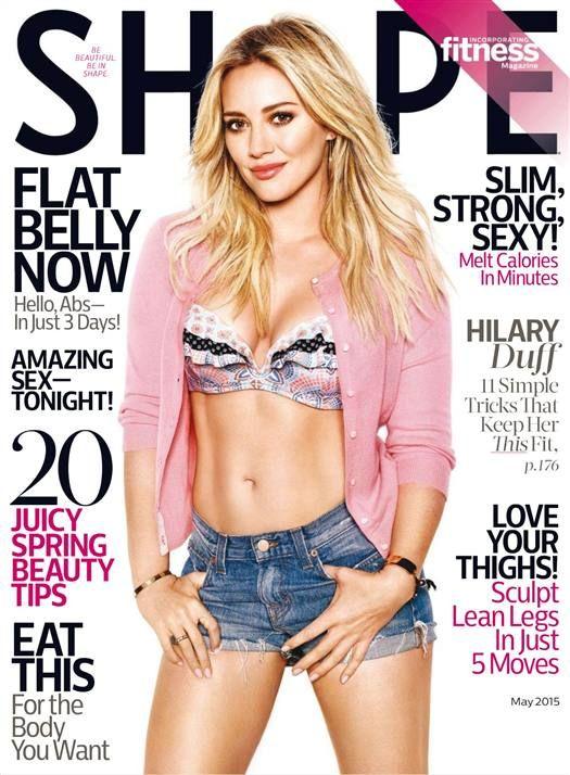 Hilary Duff (2015.05. Shape)