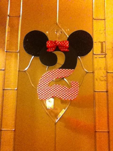 Khloé's Minnie Mouse birthday