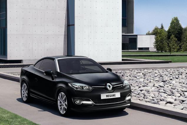 Renault Mégane Coupé-Cabriolet  Most efficient diesel model quoted at 57mpg