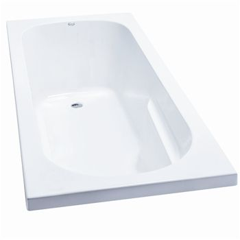 Clearlite / Kahlo bath. 1675 w 2 side upstand $700, w 3 sides upstand $720. 1800 w 2 side upstand $770, w 3 sides upstand $800.