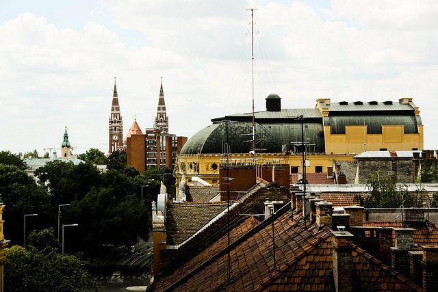 Szeged felülről