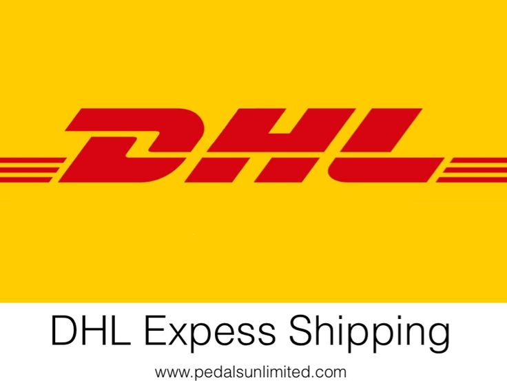 Get your orders faster with DHL express.