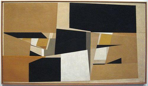 "thatsbutterbaby: ""Pablo Palazuelo - Autumns, 1952 """