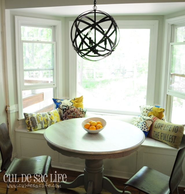 Bay Window Banquette: 60 Best Images About Kitchen On Pinterest