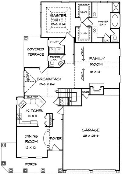 Plan 36013DK: Farmhouse Home With Wraparound Porch