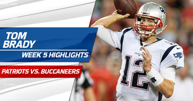 Check out the best plays from New England Patriots quarterback Tom Brady in his team's win over the Tampa Bay Buccaneers on Thursday Night Football.