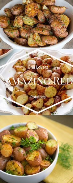 Grill Lovers' Amazing Red Potatoes Recipe   #recipes #foodporn #foodie