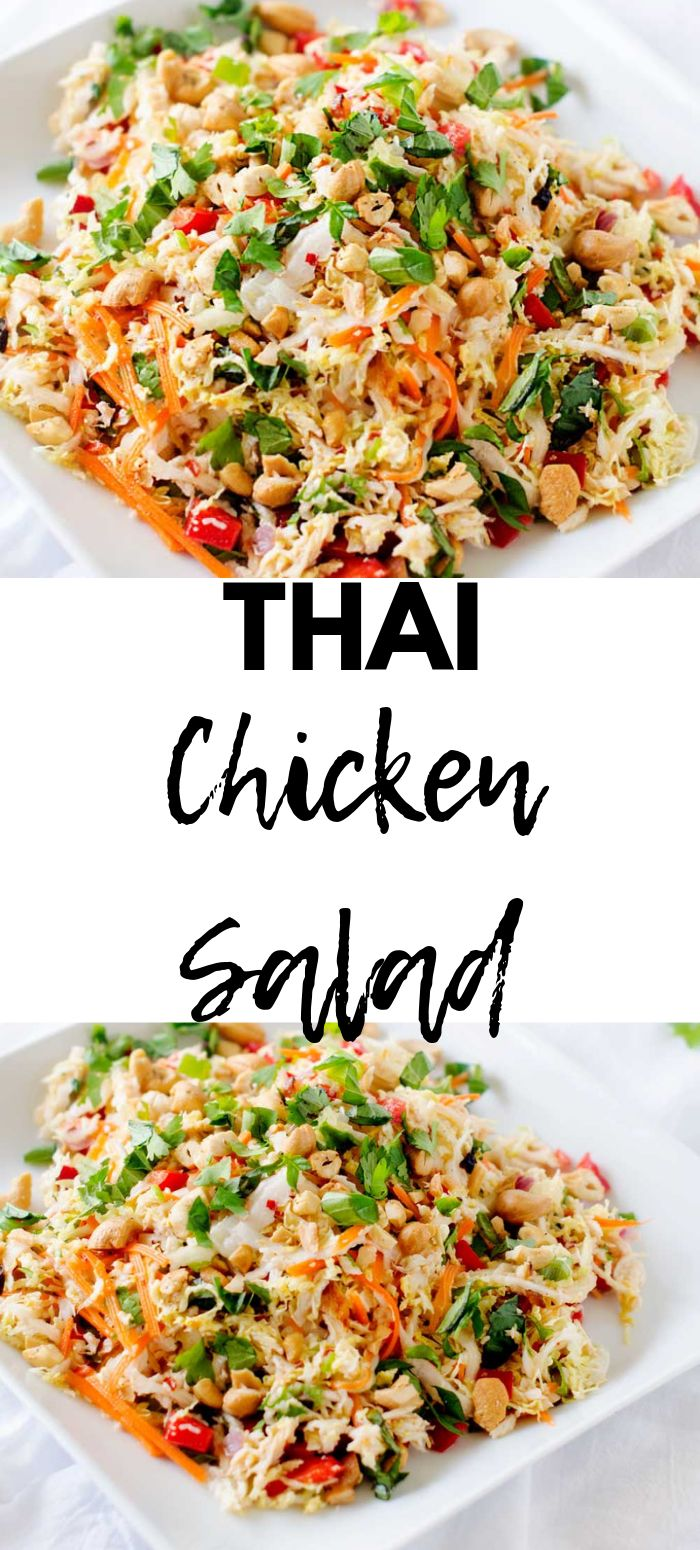 Thai Hähnchen Salat