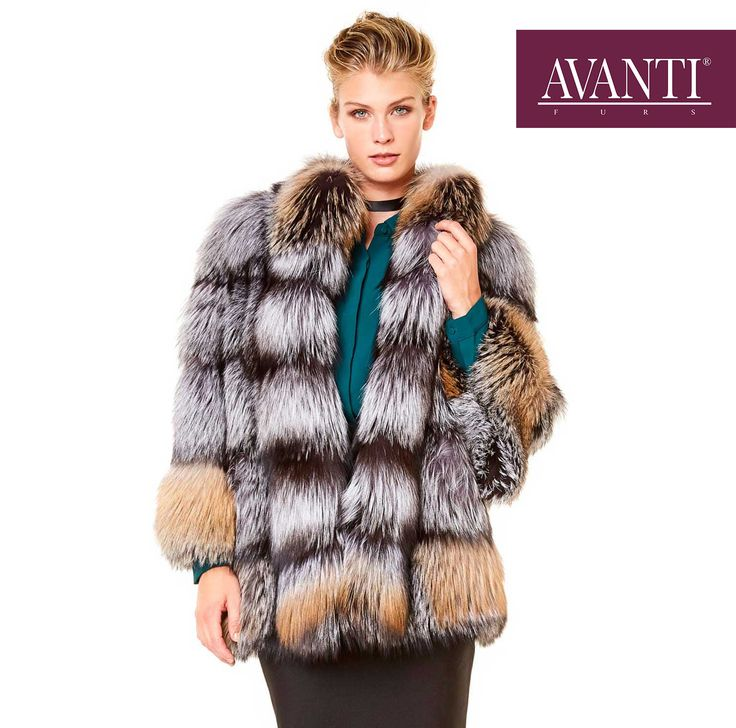 AVANTI FURS - MODEL: D-02 FOX JACKET   #avantifurs #fur #fashion #fox #luxury #musthave #мех #шуба #стиль #норка #зима #красота #мода #topfurexperts