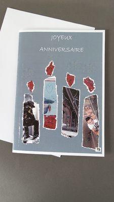 """""""style Urbaine"""". Pour tous les amoureux de New-york, les amoureux des grandes villes, des gratte-ciels, des buildings et des poissons rouges..........voici leur carte."""
