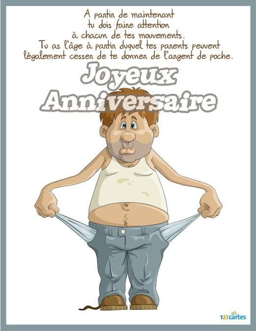 Populaire 14 best carte annif images on Pinterest | Birthdays, Cards and  VB64