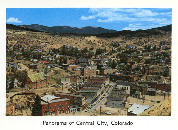 Central City, Colorado as I remember it in the 1970's.
