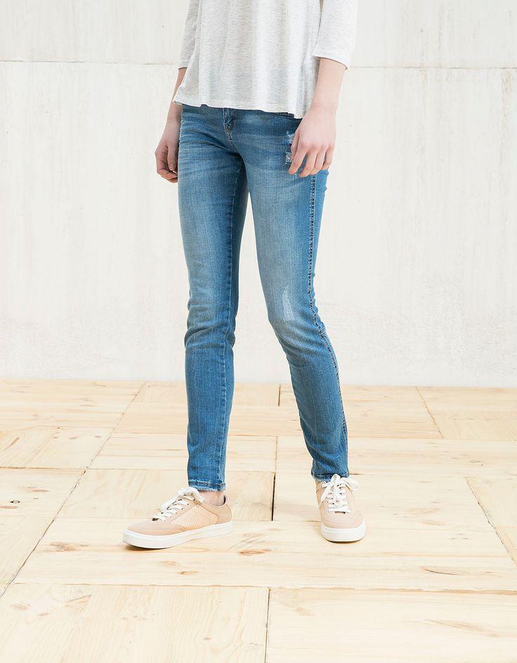 Облегающие джинсы BSK - Джинсы - Bershka Russia