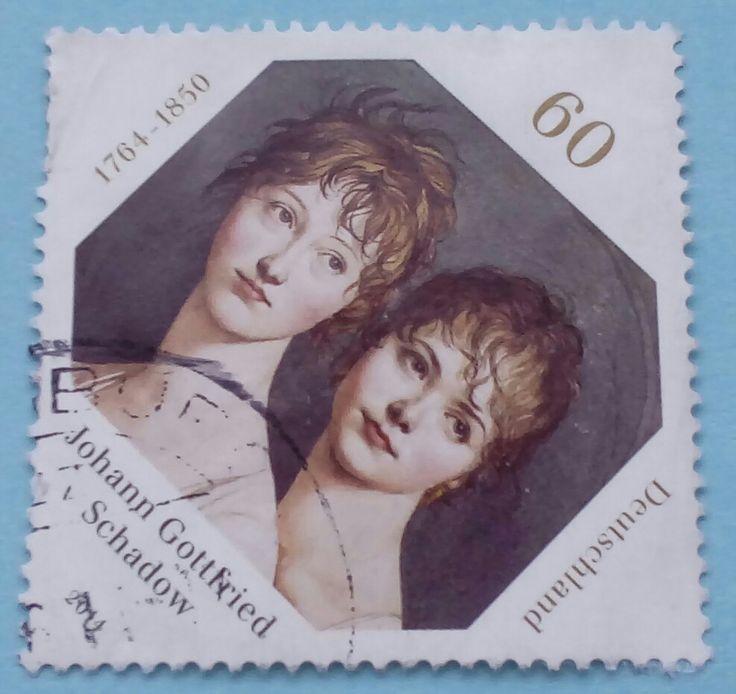 "Stamp 2014 ""250th Birthday Johann Gottfried Schadow"" , Germany"