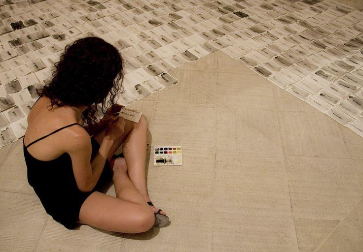 mostra collettiva internazionale Cantiere delle culture Melpignano 2013 (PG) Bordacconi Elena