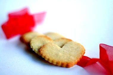 Shortbread cookie  Recipe states: This shortbread cookie recipe has such a light texture that it almost melts in your mouth.