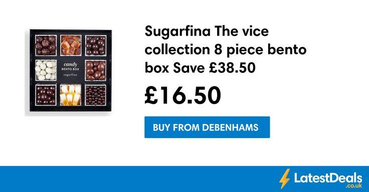 Sugarfina The vice collection 8 piece bento box Save £38.50, £16.50 at Debenhams