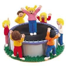 Image result for trampoline cake ideas