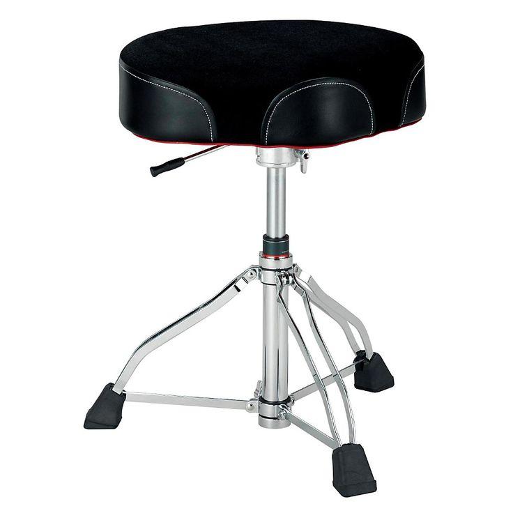 Tama 1st Chair Ergo-Rider Drum Throne Hydraulix Cloth Top Black