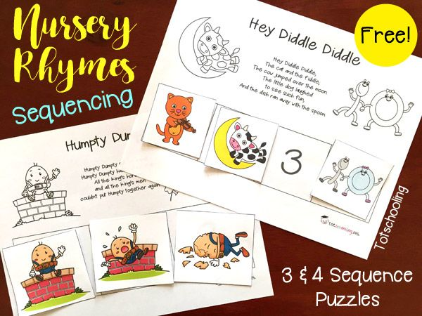 Old Lady Who Swallowed... Matching & Sequencing Printables | Totschooling - Toddler and Preschool Educational Printable Activities
