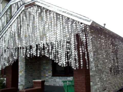 Az 50 000 sörösdobozzal díszített ház / The #house decorated with the 50 000 #beer boxes