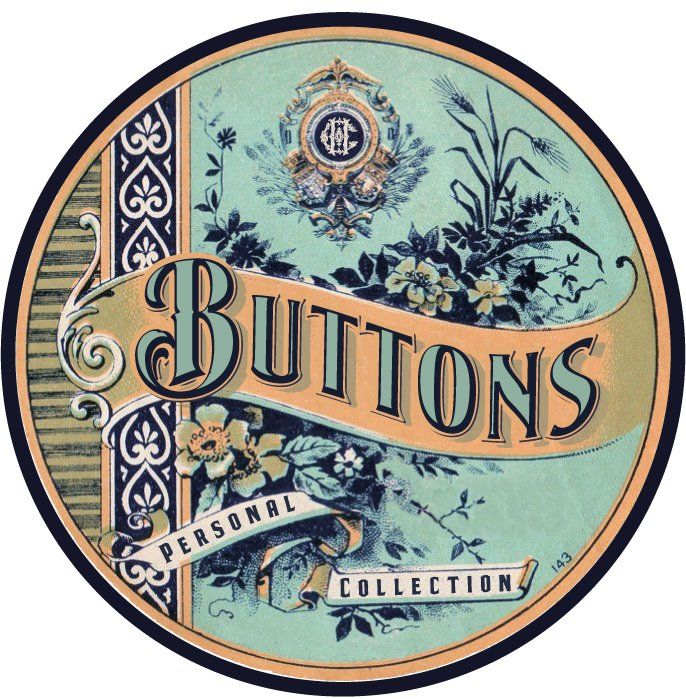 Printable vintage 'Buttons' labels to use for your boxes & bottles