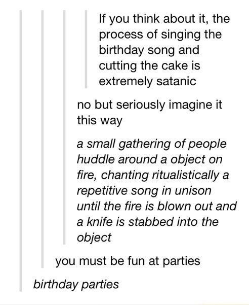 Evil Satan Qoutes: Satan Gets A Little Stronger Everytime The Birthday Ritual