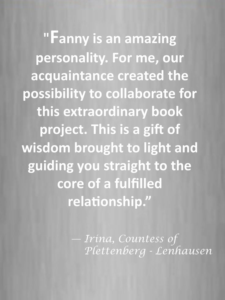 """#quote by Irina, Countess of Plettenberg-Lenhausen ...""""This is a gift of wisdom brought to light and guiding you straight to the core of a fulfilled relationship."""""""