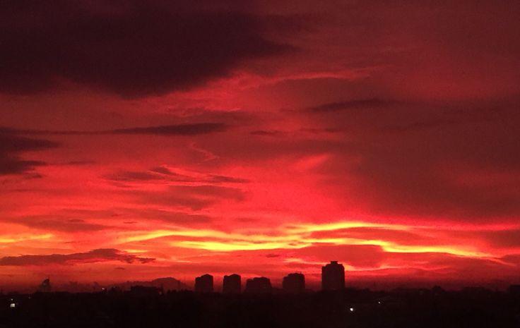 Skies is Red @Jakarta