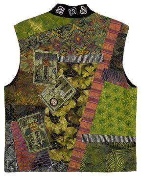 christinebarnes.com Kimono Collage Vest back