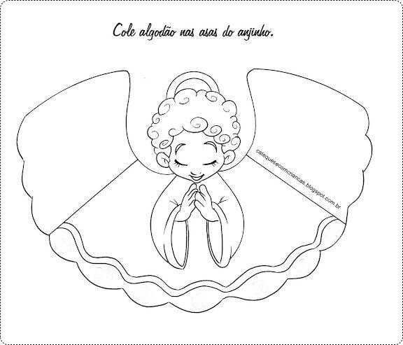 Catequese Com Criancas Encontro De Catequese Deus Criou O Anjo