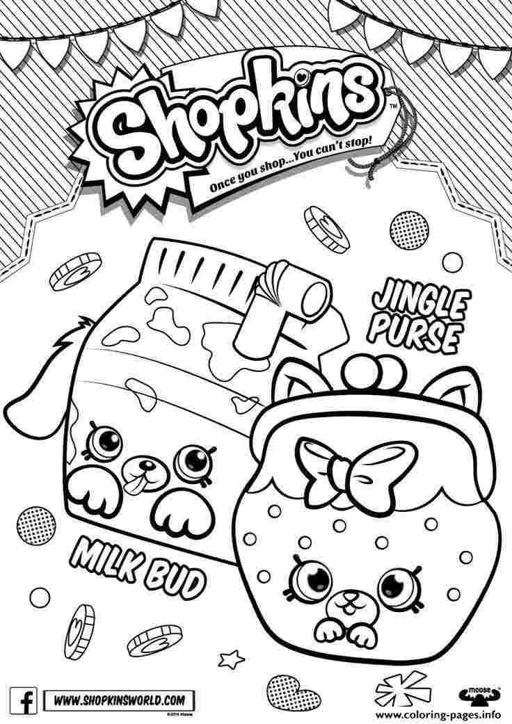 Shopkins Coloring Pages Season 4 Shopkins Season 4 Coloring Shopkins Halaman Mewarnai Warna