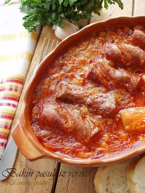 La cuisine creative: Bakin pasulj iz rerne