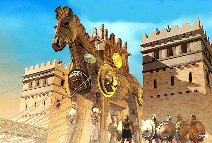 Christos Giannopoulos - The Trojan Horse. Tags. trojan war, trojan horse,