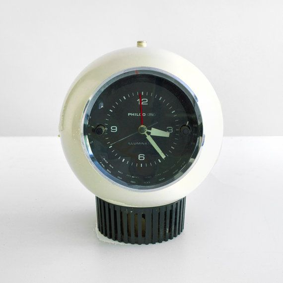 philco ford corp clock radio eye ball clock philco by homeandhomme