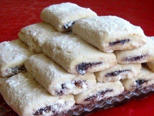 Mini strudlice met pruimenjam ~ Cakes - Recepten voor taarten