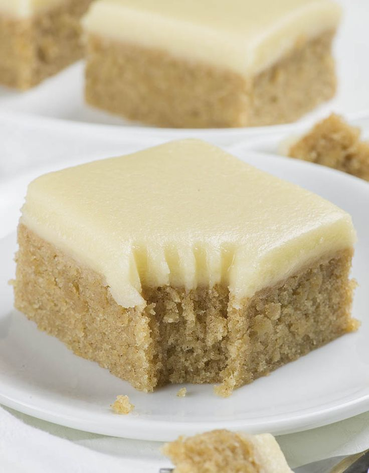 Banana Bread Blondies - Chocolate Dessert Recipes - OMG Chocolate Desserts
