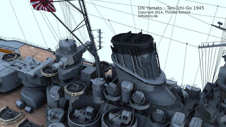IJN Yamato Ten-Ichi-Go | 3DHISTORY.DE